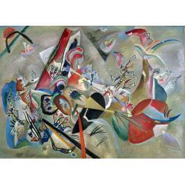 Posters Obraz, Reprodukce - In the Grey, 1919, Wassily Kandinsky
