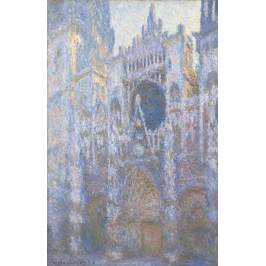 Posters Obraz, Reprodukce - Rouen Cathedral, West facade, 1894, Claude Monet