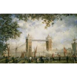 Posters Obraz, Reprodukce - Tower Bridge: From the Tower of London, Richard Willis